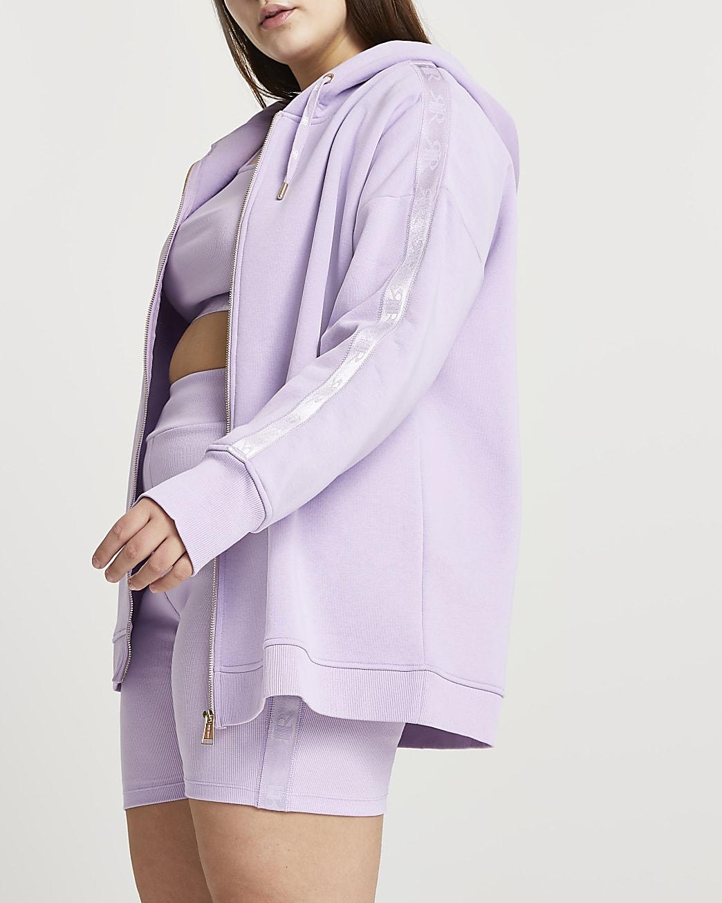 Plus purple intimates hoodie