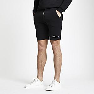 Prolific - Zwarte muscle-fit jersey short