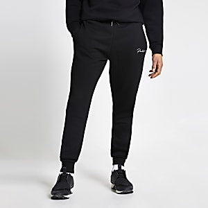Prolific - Zwarte regular fit joggingbroek