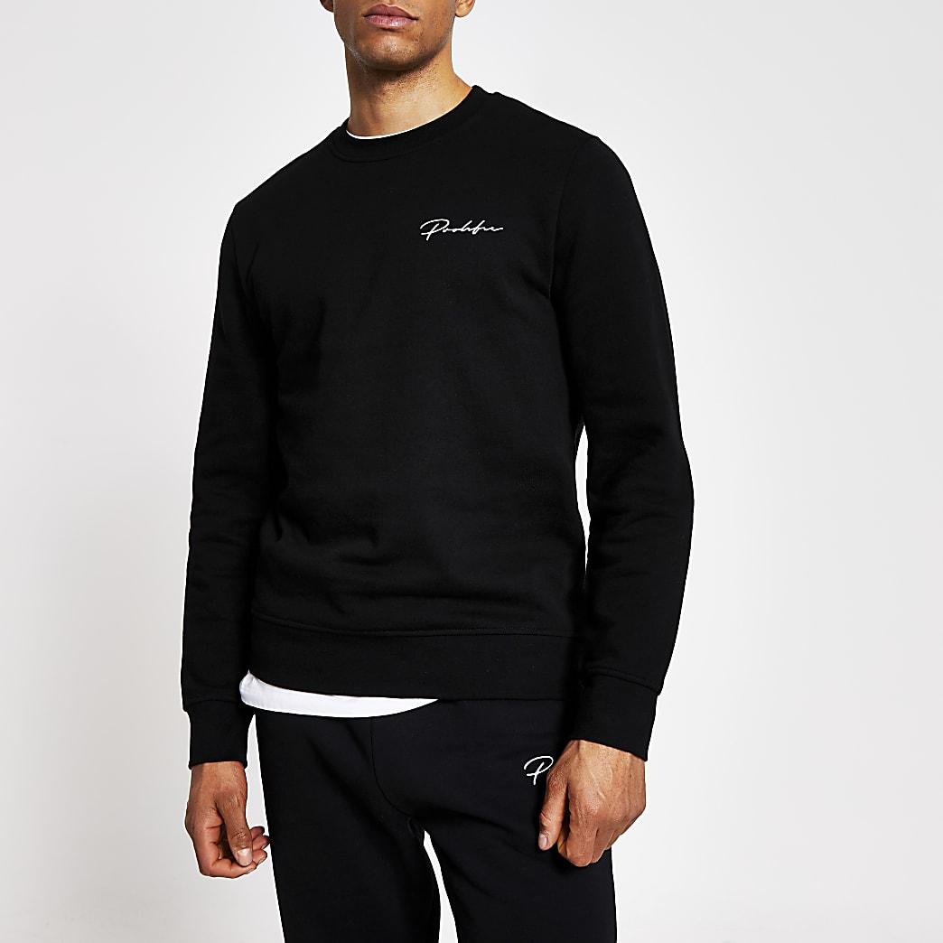 Prolific black slim fit sweatshirt