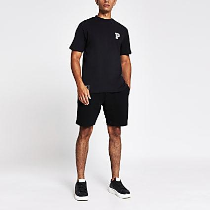 Prolific black slim fit T-shirt