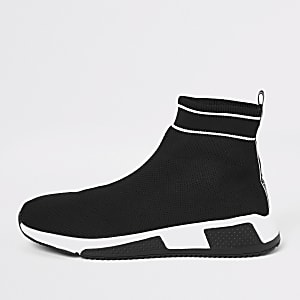 Prolific – Schwarze Sock-Runner-Sneaker