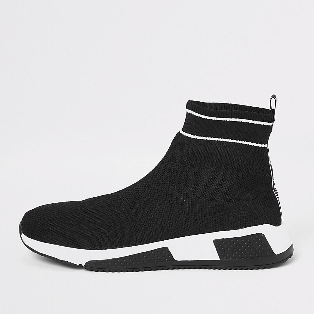 Prolific black sock runner trainers