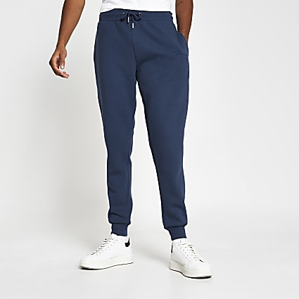 Prolific blue slim fit joggers