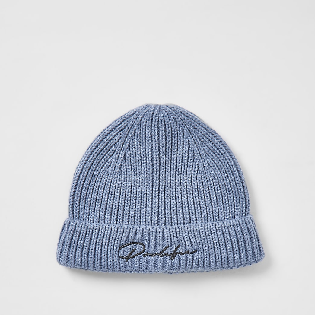 Prolific Blue turn up brim hat