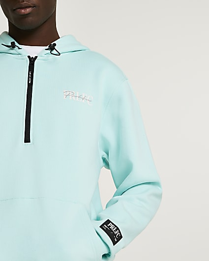 Prolific green oversized fit active hoodie