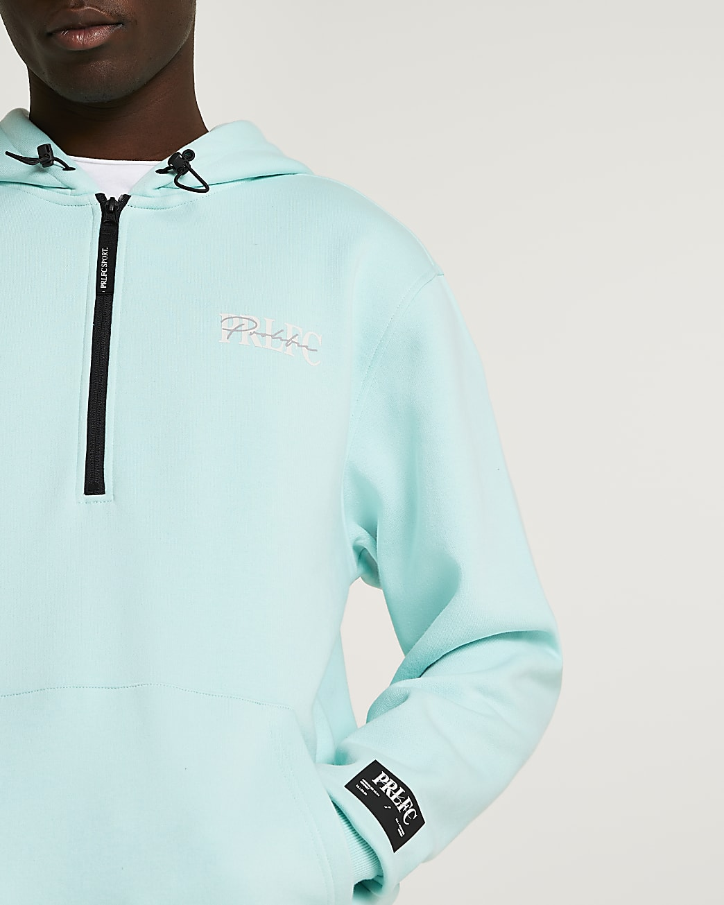 Prolific green oversized fit hoodie