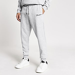 Prolific - Grijze regular-fit joggers