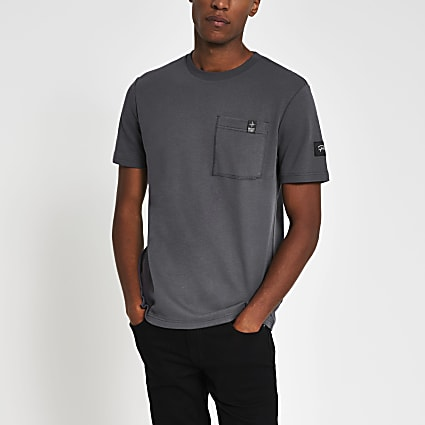 Prolific grey slim short sleeve t-shirt