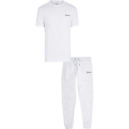Prolific grey t-shirt and jogger set