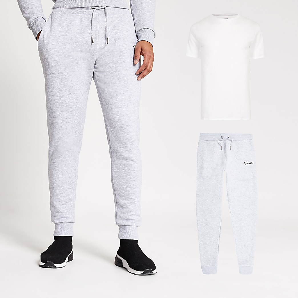 Prolific grey t-shirt and joggers set