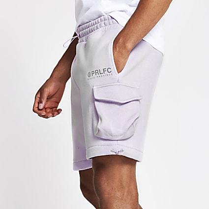 Prolific lilac slim shorts