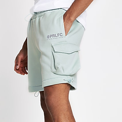 Prolific mint green slim shorts