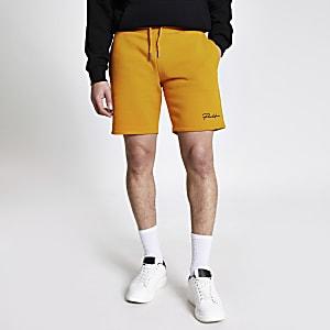 Prolific – Slim Fit Shorts in Senfgelb