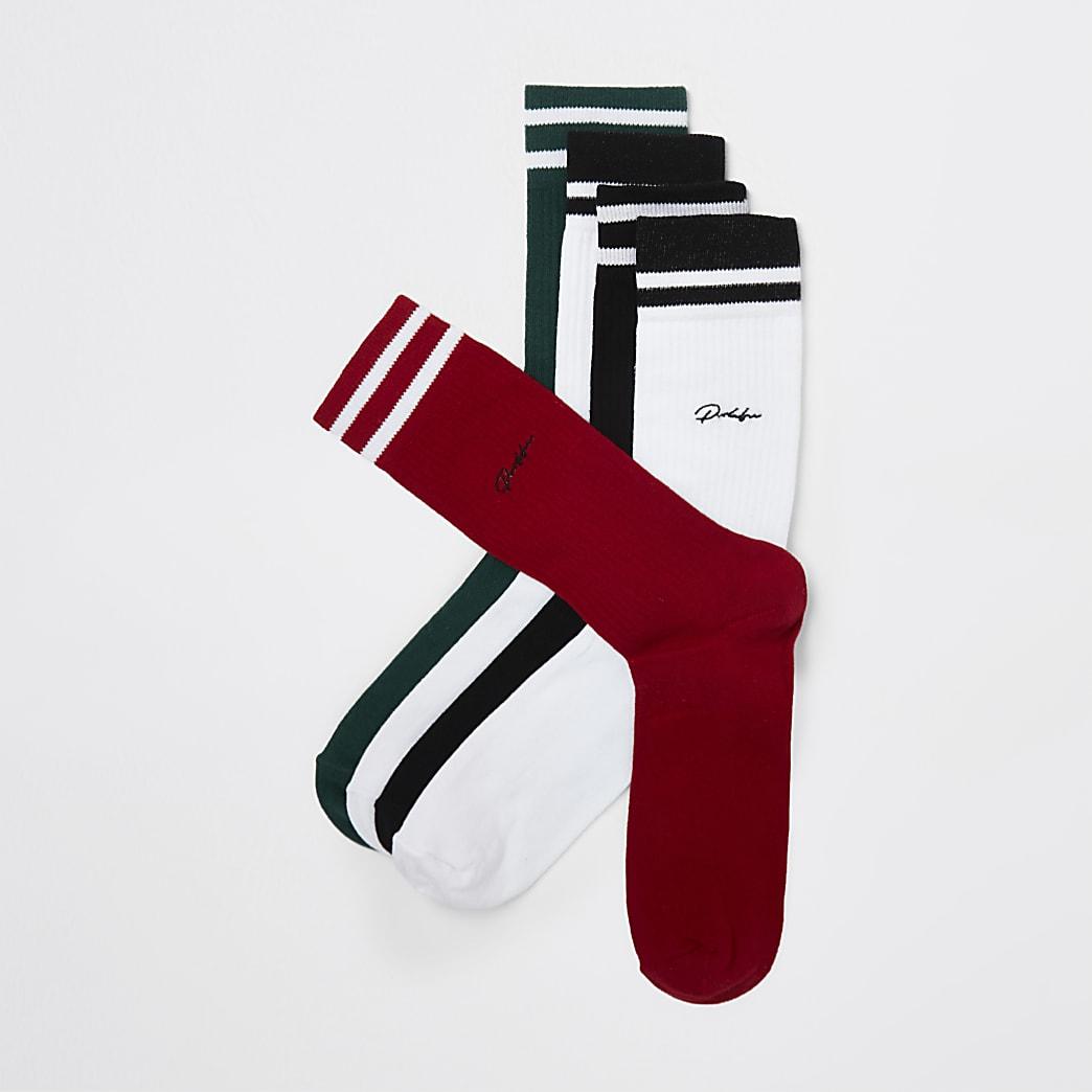 Prolific stripe socks 5 pack