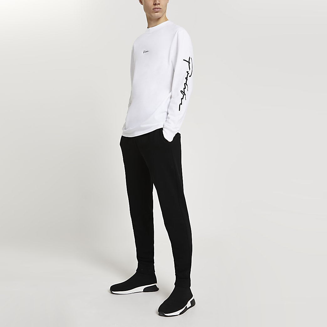 Prolific white long sleeve top