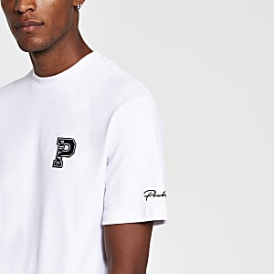 Prolific white slim fit T-shirt