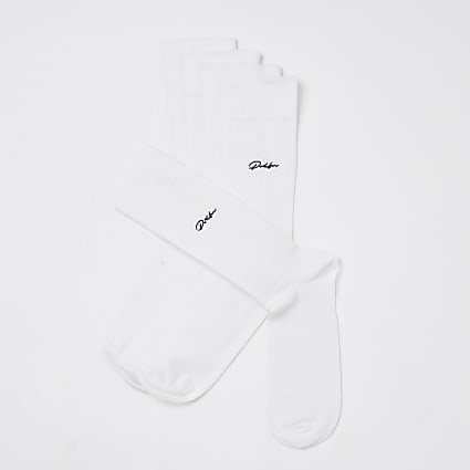 Prolific white socks 5 pack