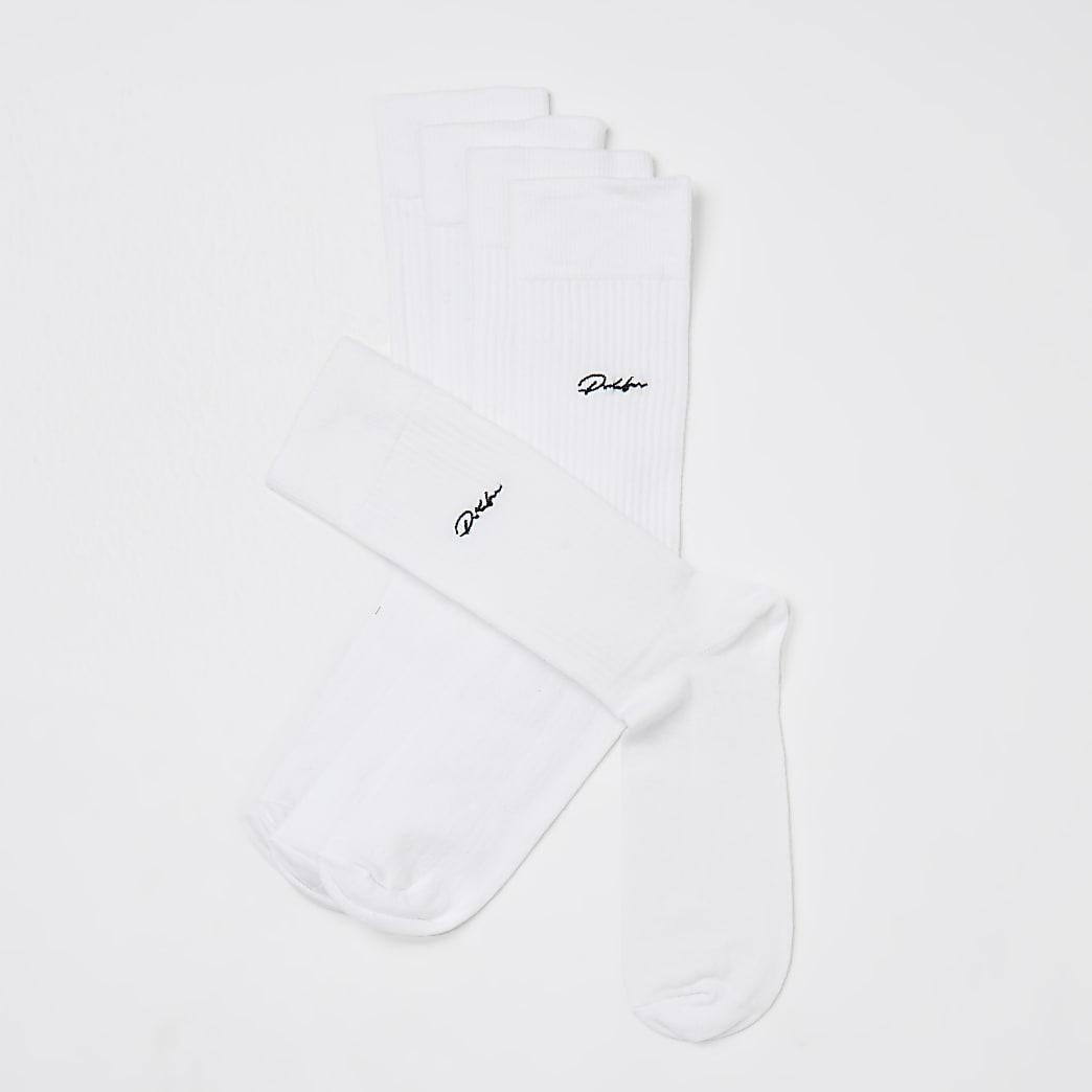 Prolific white socks 5 pack