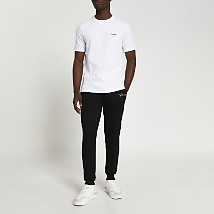 Prolific white t-shirt and jogger set