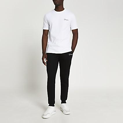 Prolific white t-shirt and jogger set