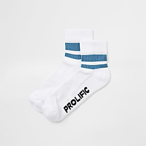 Prolific– Chaussettes tube blanches