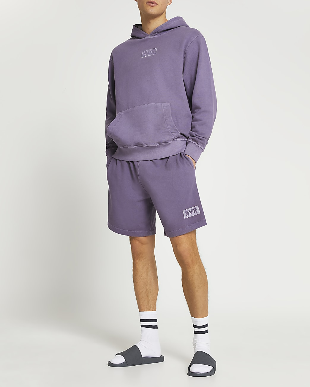 Purple drench RVR shorts