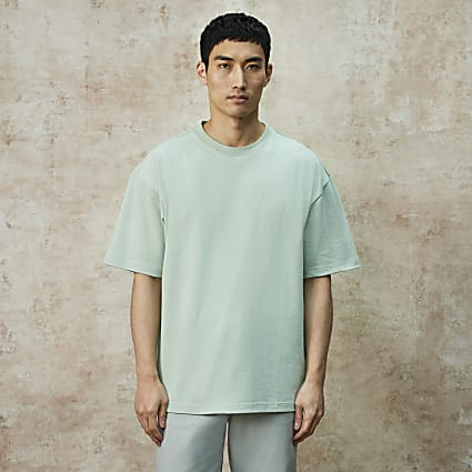 RI Studio green oversized t-shirt