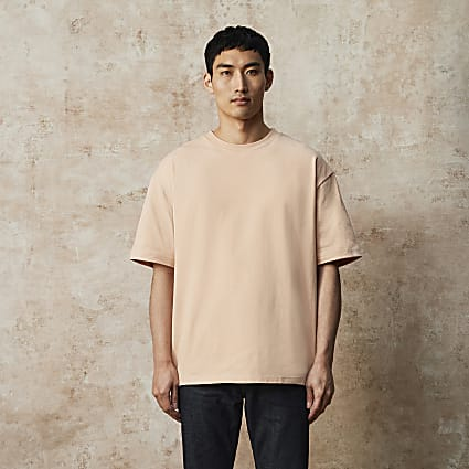 RI Studio pink oversized t-shirt