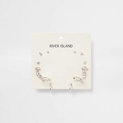 Rose gold colour Ear cuff 5 pack