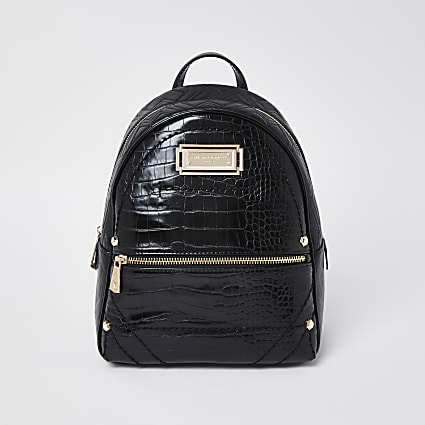RSD Black Croc Backpack