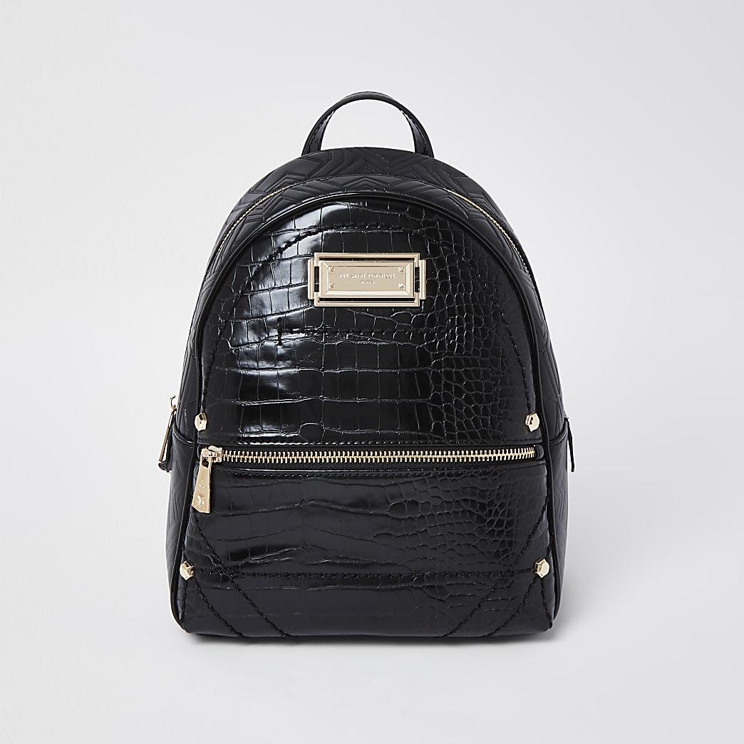 RSD Black Croc Backpack