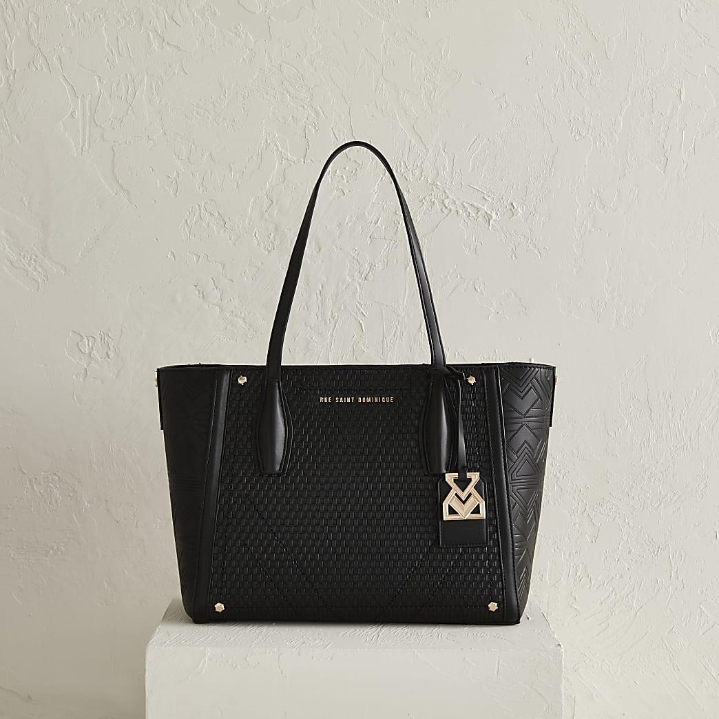 RSD black shopper bag