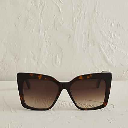 RSD brown cat eye tortoise shell sunglasses