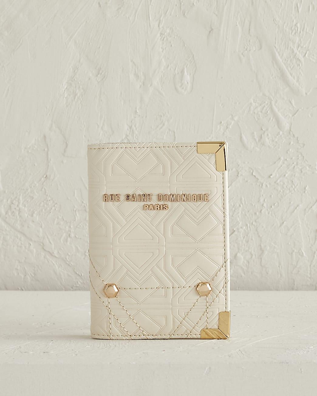 RSD cream embossed passport