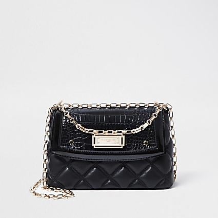 Rue Saint Dominique black shoulder bag
