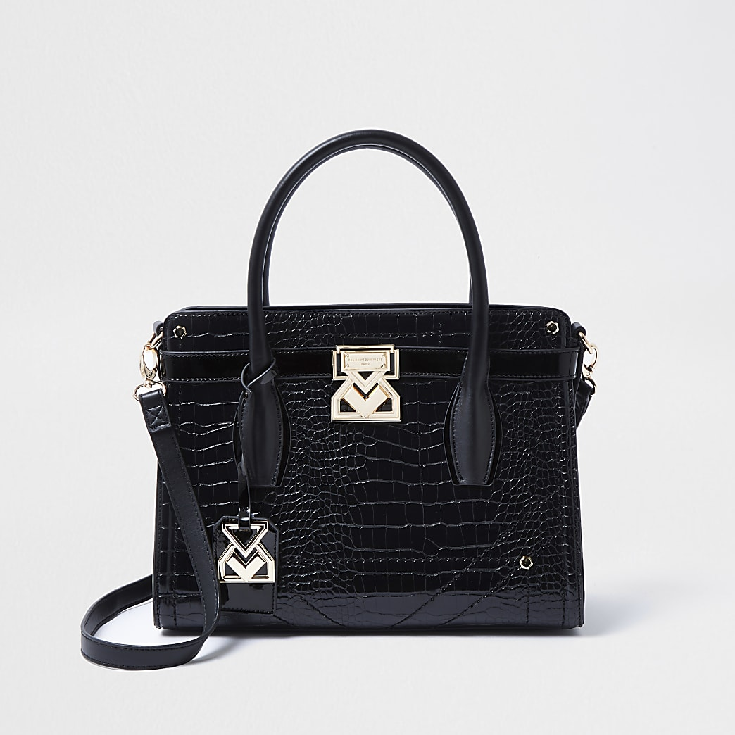 Rue Saint Dominique black tote bag