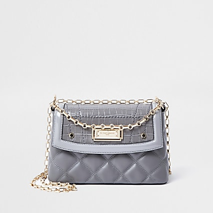 Rue Saint Dominique grey shoulder bag