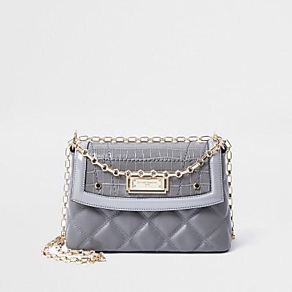 Rue Saint Dominique grey shoulder bag