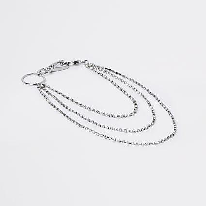 Silver colour belt chain