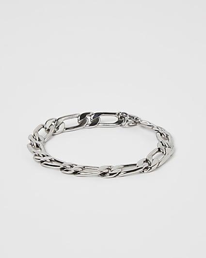 Silver colour chain bracelet
