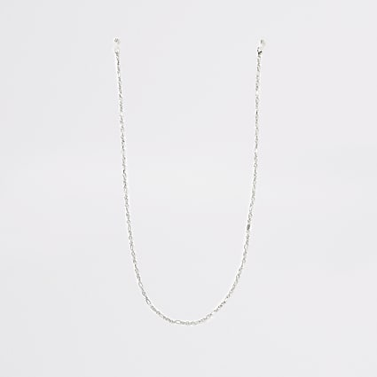 Silver colour sunglasses chain