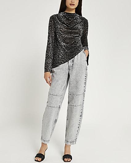 Silver printed top