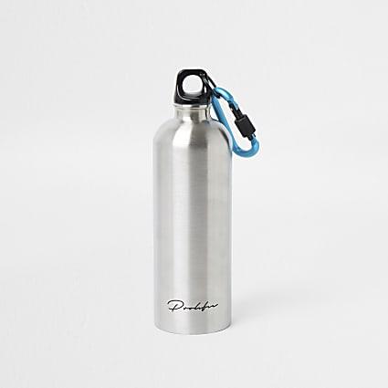 Silver prolific water bottle