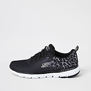 Skechers - Zwarte 'flex appeal' 3.0 sneakers