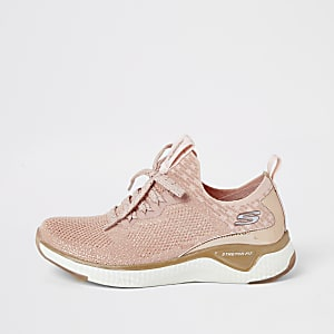 Skechers pink solar-fuse gravity trainers
