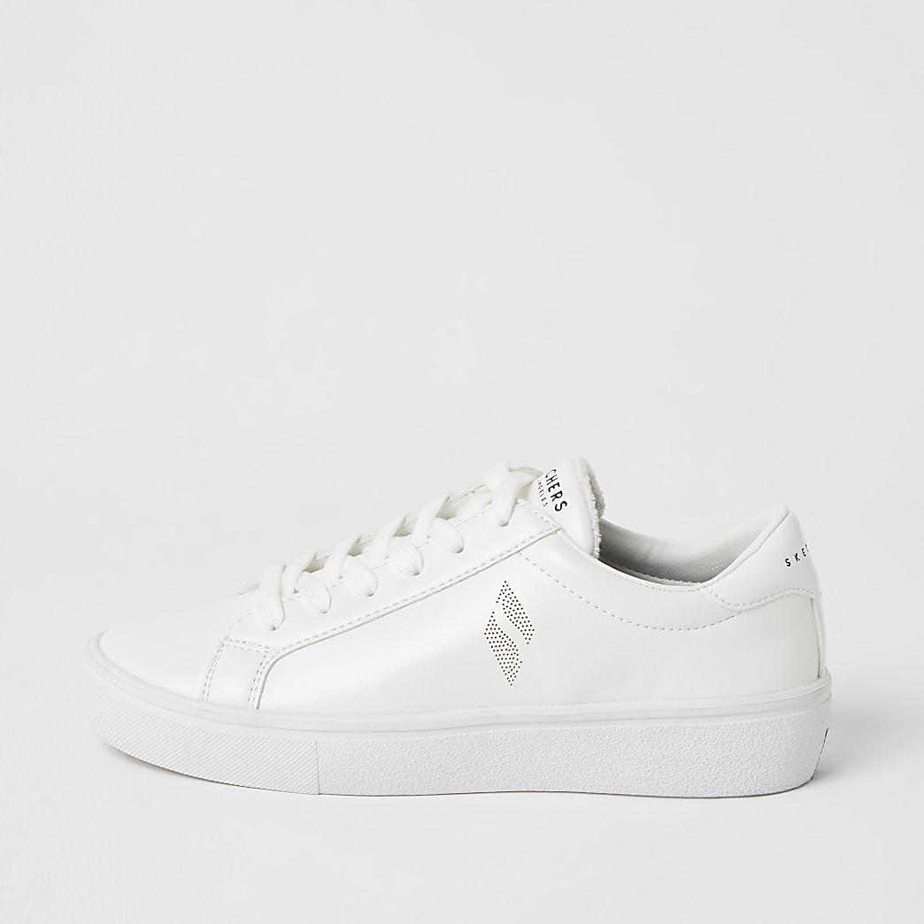 Skechers white goldie 2.0 trainer