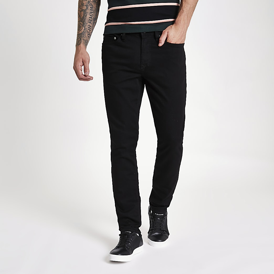 Sid - Stay Black - Slim-fit jeans