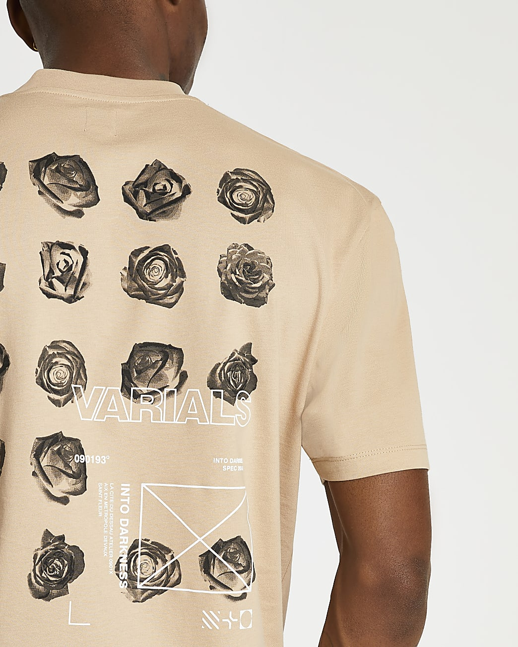 Stone floral graphic t-shirt