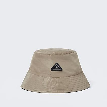 Stone nylon bucket hat